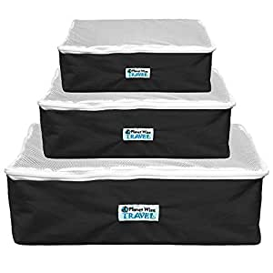 Planet Wise Packing Cube - Small - Black Voyage