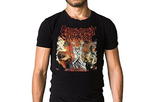 (Malevolent Creation The Ten Commandments 1991 Album Cover T-Shirt)