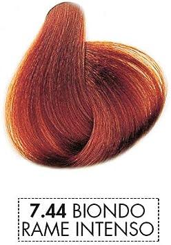Mystic Color - Coloración Permanente en Crema con Aceite de Argán y Caléndula - Color Natural y Duradero - Tono 7.44 Intenso Rubio Cobrizo - 100 ml