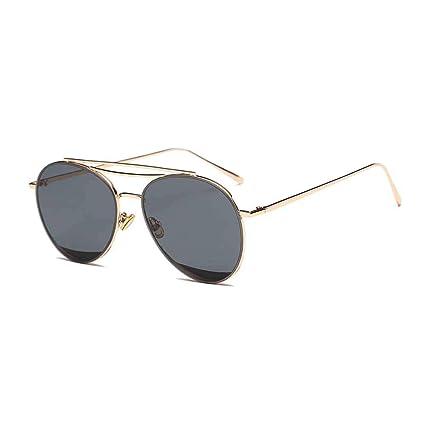 Huichao Gafas de Sol Tipo Aviador de Gran tamaño y Ligeras ...