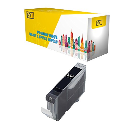 New York Toner New Compatible 1 Pack CAN-TY3 3ePBK 5 6BK High Yield Inkjet For - PIXMA : PIXMA iP3000   PIXMA iP4000R   PIXMA iP5000   PIXMA MP750   PIXMA MP760   PIXMA MP780. -- Photo Black