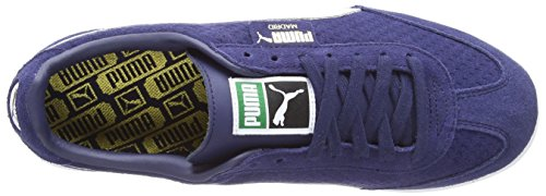 Puma Madrid puma Gold Zapatillas Azul Peacoat Perforated Adulto White puma Suede Unisex Team rrZv1WTf