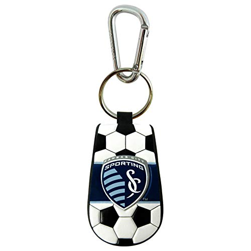 GameWear MLS Sporting Kansas City KeychainClassic Soccer Keychain, Team Color, One Size