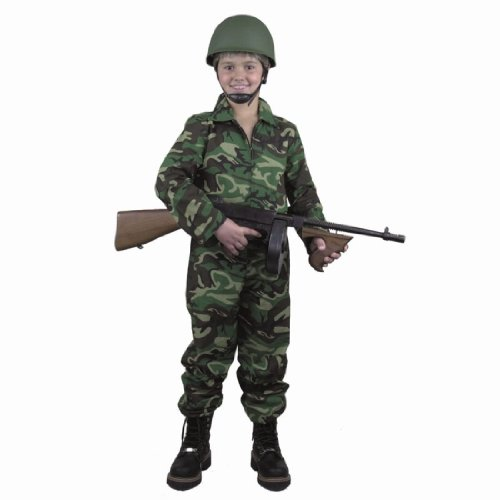Army G.I. Camouflage Kids Costume (Army Costume For Kids)