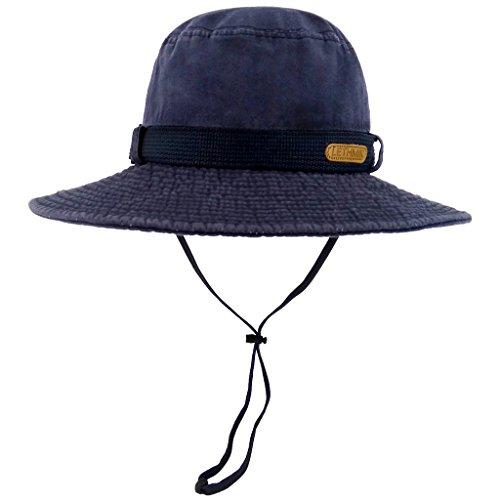 c89737371ab71 LETHMIK Fishing Sun Boonie Hat Waterproof Summer UV Protection ...