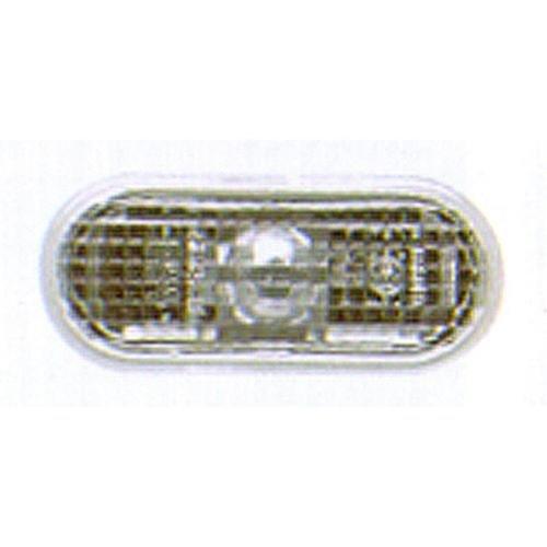 CPP Clear Lens Side Marker for Volkswagen Cabrio, Jetta, Passat VW2570101 ()