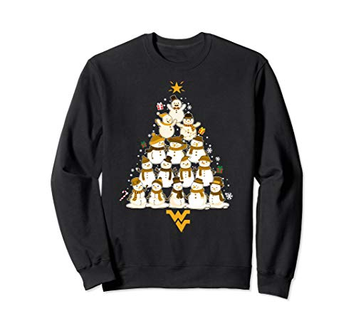 West Virginia Mountaineers Christmas Snowman Sweatshirt