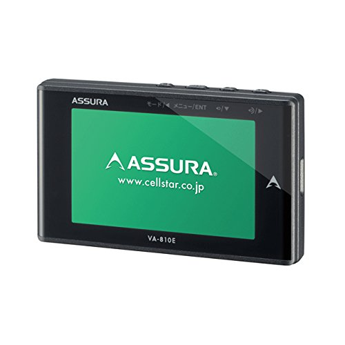 セルスター GPS内蔵 レーダー探知機CELLSTAR ASSURA アシュラ VA-810E<br />