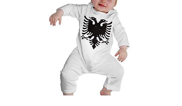 Mri-le1 Baby Boy Long Sleeved Coveralls France American Flag Kid Pajamas