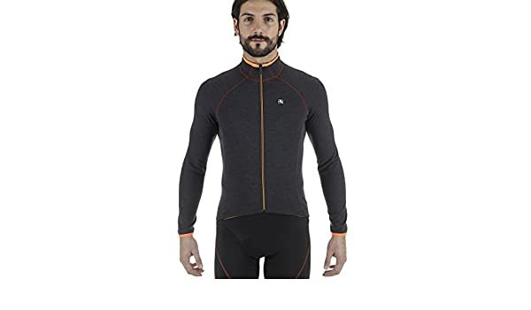 Amazon.com   Giordana 2017 18 Men s Sosta Wool Long Sleeve Cycling Jersey -  GICW16-LSWO-SOST   Sports   Outdoors e791bdedc