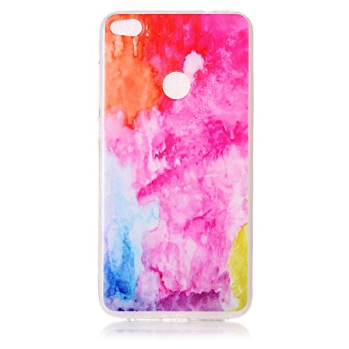Funda iPhone 5/5S/SE,MAGQI Gel Suave de TPU Carcasa,Ultra Delgado Flexible Transparente Anti-Rasguño Anti-Golpes Bumper Protectora Case Cover para iPhone 5/5S/SE - Atrapasueños Patrón Colorido