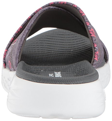 The Skechers Gray Go Sandal On Women's 600 Monarch Slide gUqERaxU