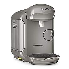 Bosch Tassimo Vivy 2 Cafetera Cápsulas, 1300 W, 0.7 Litros, Aluminio, Gris Arena/ Antracita