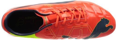 Fg Yellow Blue Rot fluro Football Rouge De 1 Red Puma Peach Pour Chaussures Evopower fluro ombre 01 Homme pEUawwx6