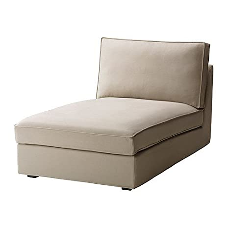 ikea kivik cover for chaise longue dansbo beige