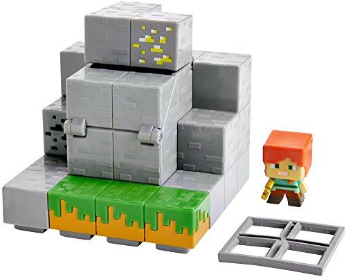 Minecraft Mini Figure Waterfall Wonder Environment Set