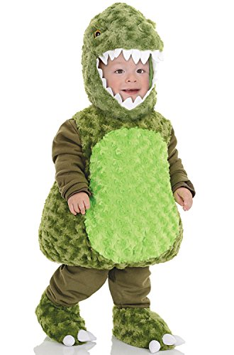 Baby T Rex Costume (Underwraps Baby's T-Rex Belly, Green, X-Large)