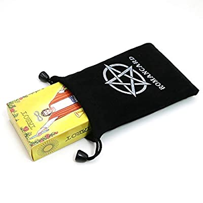 Rider Tarot Cards with Beautiful Bag for Divination Personal use Tarot Deck Full English Version - by AleenStore - - 1 PCs