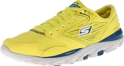 Skechers Performance Women's Go Run Running Shoe,Lime,5 M US