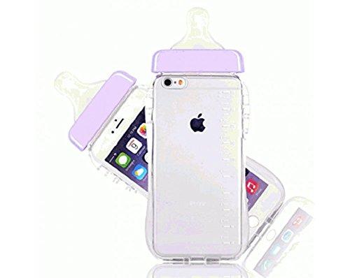 Baby Bottle iPhone 6-Plus Case (Purple) -  ABDL ASC