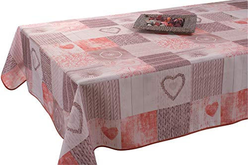 Amazon Com Easynappes Tablecloth Anti Stain Ficello Red