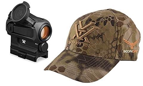 Vortex Optics SPARC AR RED DOT Dot Gun / Rifle Sight with IkonOps Hat (Ar 15 Mini Red Dot)