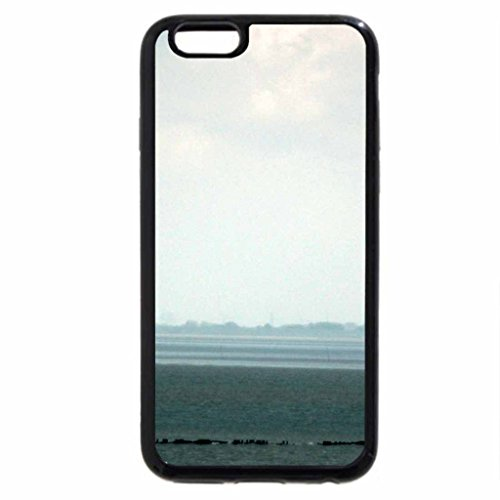 iPhone 6S / iPhone 6 Case (Black) Lightouse in fog