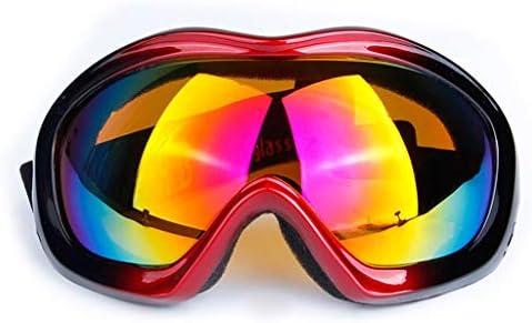 登山スキー用ゴーグル、男性と女性用の成人用スキーゴーグル、単層ゴーグル、砂防バイク用ゴーグル