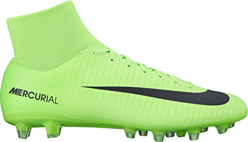 Nike  Mercurial Victory Vi Df Ag-pro, Chaussures de foot pour homme ELECTRIC GREEN /BLACK