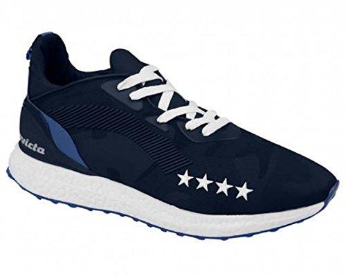 Invicta Unisex-Erwachsene Microfiber Niedrige Sneaker Blau