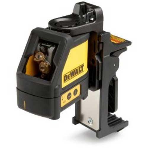 DEWALT DW087P Heavy-Duty LaserChalkLine Self-Leveling Line Laser (Horizontal & Vertical) in Pouch