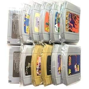 (All the 64 bit USA Version Video Game Cartridge for MrioedKart/MarioedParty/Mortal Kombat 4/Mega Man etc. English Language Save - VERSION Mega Man)