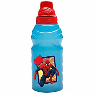 Zak ChillPak Spiderman 16 oz Water Bottle with LiquidLock Lid with Ice Core
