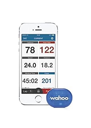 Wahoo RPM Speed and Cadence Sensor for iPhone Android and Bike Computers Training Gloves at amazon