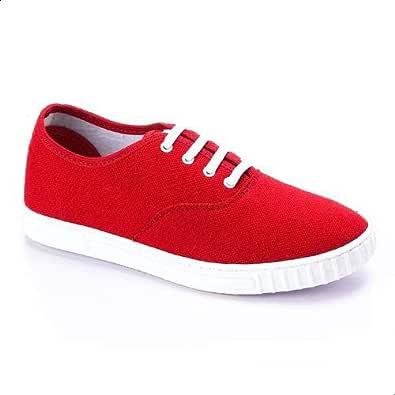 Road Walker Fashion Sneakers For Women - Red