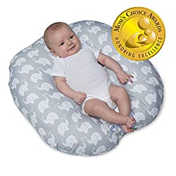 The Boppy Newborn Lounger is the perfect place for wee ones to coo and kick in comfort. It is uniquely designed with a recessed interior perfect for a newborn's bottom. This must-have for newborns is a lifesaver for moms and dads. It allows parents t...