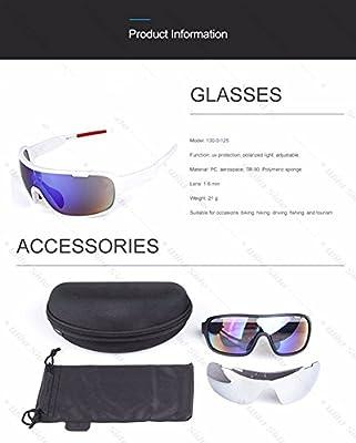 e285e50f7b ... Lorsoul Polarized Sports Cycling Sunglasses Bike Glasses for Men Women  Running Driving Fishing Golf Baseball Racing ...