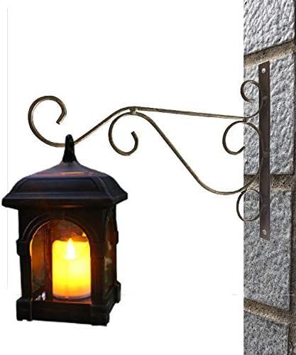 Gshy - Farolillos solares impermeables con vela colgante de aire para patio o jardín: Amazon.es: Iluminación