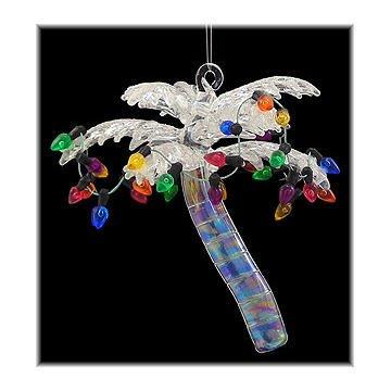 Tree Christmas Ornament Palm (White Palm Tree Ornament)