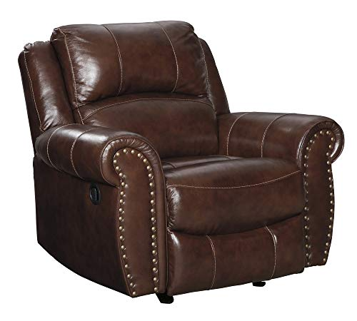 Signature Design by Ashley Bingen Rocker Recliner, Harness (Recliner Nailhead)