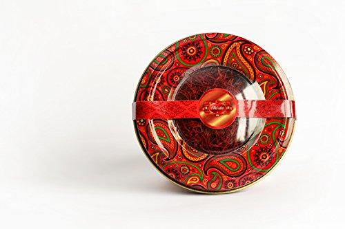 SHIRIN Saffron,Persian Pure & Natural,Premium Quality, Grade 1, All Red,4 Grams(0.141 OZ) by SHIRIN