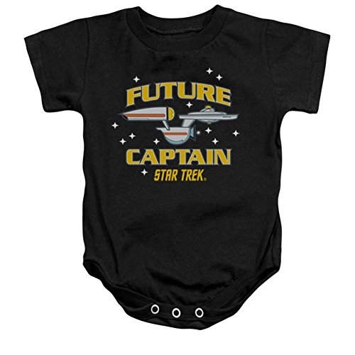 Infant: Star Trek- Future Captain Onesie Infant Onesie Size 12-18 Mos
