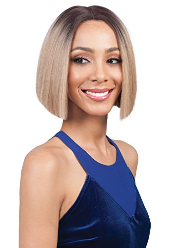 Bobbi Boss Synthetic Lace Front Wig MLF 178 Swiss Lace Xenon (1B)