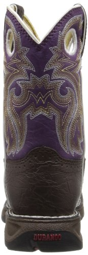 Durango Kids BT286 Lil' 8 Inch Saddle,Dark Brown/Purple,11M Little Kid by Durango (Image #2)
