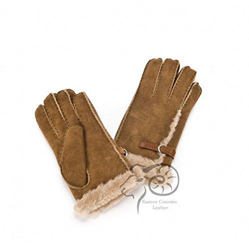 行き当たりばったりたとえテニス(イースタン?カウンティーズ?レザー) Eastern Counties Leather レディース バックル付き シープスキン 手袋 グローブ (XL) (ベージュ)