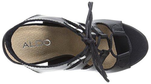 Sandalo Aldo Donna In Pelle Nera