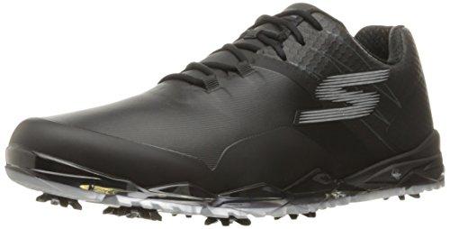 Skechers Mens Outlet (Skechers Performance Men's Go Golf Focus Collegiate Golf Shoe, Black, 8 M US)