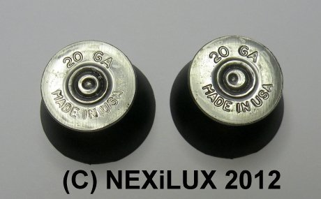 Pair of Thumbstick Bullet Nickel+Nickel for XBOX 360 Controller w/ Torx L key