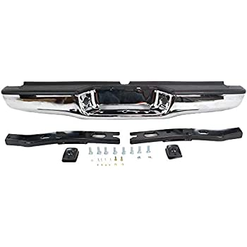 Amazon.com: OE Replacement Toyota Tacoma Rear Bumper Assembly ...