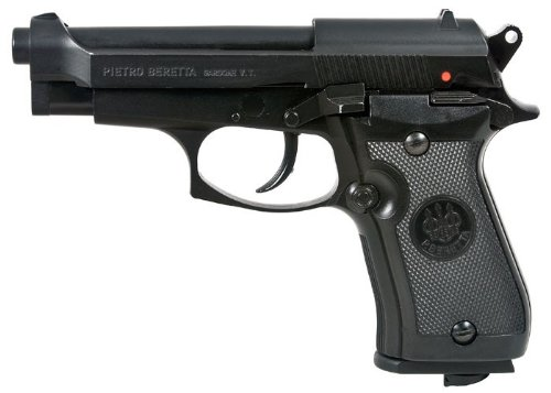 Beretta M84FS BB 17 Rounds 360 FPS 0.177 Caliber Air Pistol, Black Beretta Slide